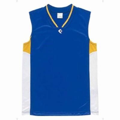 コンバース CB54702-2511-140 ジュニア用ゲームシャツ(Rブルー/ホワイト・140)CONVERSE[CB547022511140] 返品種別A