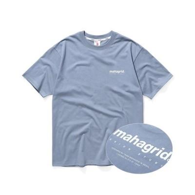 tシャツ Tシャツ 『mahagrid』オリジンロゴTEE/クルーネック半袖Tシャツ/カットソー