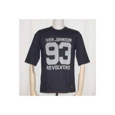 URES-04-ジェットネイビー-REVOLVER-URES04-DELUXEWARE-デラックスウエア五分袖Tシャツ