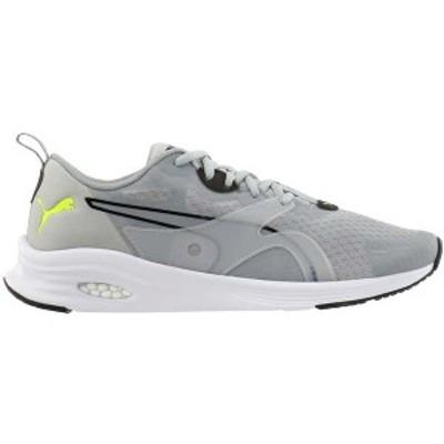 プーマ メンズ スニーカー シューズ HYBRID Fuego Running Shoes High Rise / Yellow Alert