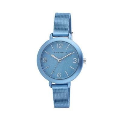 ローラアシュレイ レディース 腕時計 アクセサリー Blue Ladies' Glitz Sparkle Dial Spray Mesh Band Watch