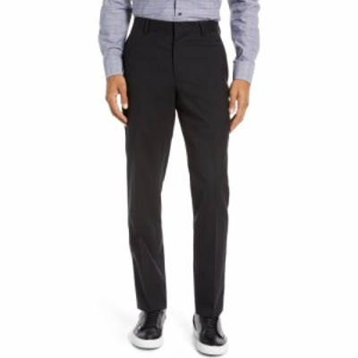 ノードストローム NORDSTROM メンズ スラックス ボトムス・パンツ Tech-Smart Slim Fit Stretch Wool Dress Pants Black