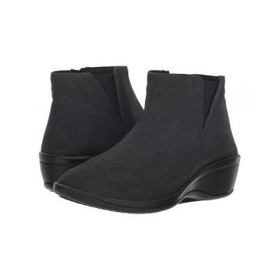 Arcopedico アルコペディコ レディース 女性用 シューズ 靴 ブーツ アンクル ショートブーツ Luana MT - Black