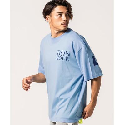 tシャツ Tシャツ バックプリント半袖クルーネックTシャツ / CARE19-44【/】