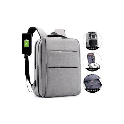リュック メンズ ビジネスバッグ リュックサック ノートパソコン 大容量 軽量 ビジネスリュック PC 通勤 出張 A4対応 USB充電口付き 人気