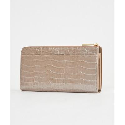 LAZY SUSAN / ウォレット カルトン パールクロコ WOMEN 財布/小物 > 財布