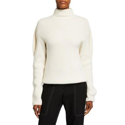 ニナリッチ レディース ニット・セーター アウター Mock-Neck Sweater with Oversize Back