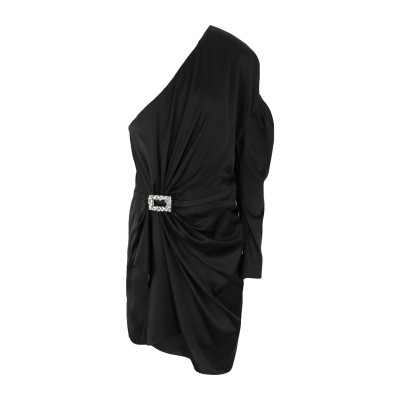 アレクサンドル・ボーティエ ALEXANDRE VAUTHIER ミニワンピース&ドレス ブラック 38 シルク 92% / ポリウレタン 8% /