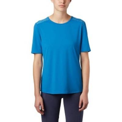 コロンビア レディース シャツ トップス Columbia Women's Chill River T-Shirt Dark Pool/Print