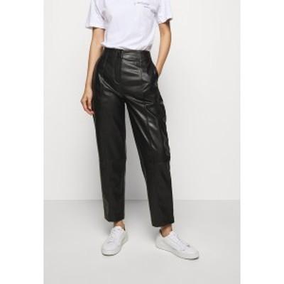 デザイナーズリミックス レディース カジュアルパンツ ボトムス TALIA PANTS - Trousers - black black