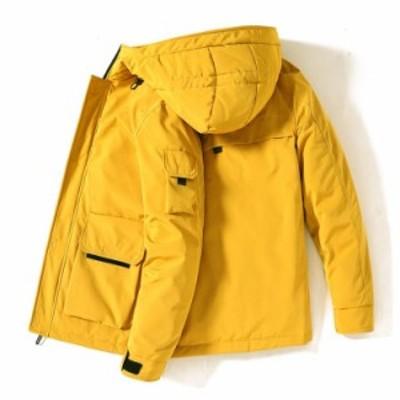 送料無料★4色★ダウンジャケット メンズ ショート ダウン ジャケット ジャンパー 軽量 新作 大きいサイズ キルティング
