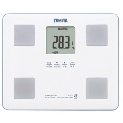 内祝い 内祝 お返し 体重計 ヘルスメーター 医薬品 タニタ 体組成計 ホワイト BC-722-WH (5)
