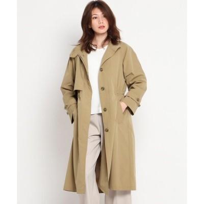 アウター 【S〜L】ベンタイルスタンドカラーコート