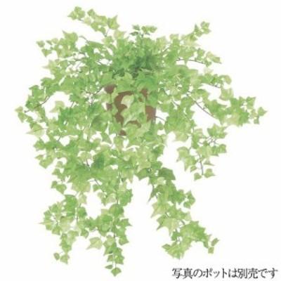 【観葉植物 造花】ミニアイビーブッシュ L フレッシュグリーン 66cm 【人工観葉植物 フェイクグリーン 光触媒 CT触媒 インテリア】[G-L]