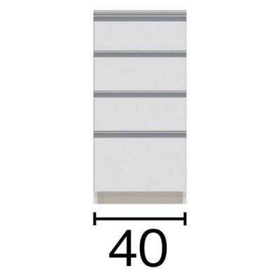 家具 収納 キッチン収納 食器棚 ダイニングボード サイズが豊富な高機能シリーズ カウンター引き出し 幅40奥行45高さ84.8cm 568961