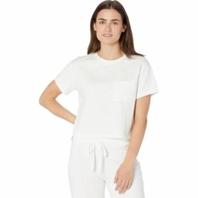 サンクチュアリ Sanctuary レディース Tシャツ トップス Essential One-Pocket Tee White