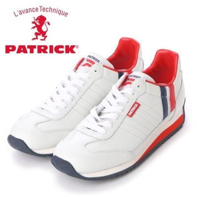 パトリック スニーカー マラソン・レザー トリコロール メンズ レディース PATRICK MARATHON-L TRC