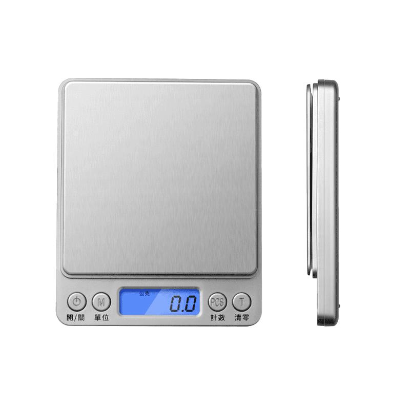 精密金屬面板電子料理秤 (電子磅秤 珠寶秤 迷你秤)