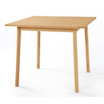 テーブル 竹集成材 Square Table W850xD850xH700mm TEORI ダイニングテーブル 家具 日本製