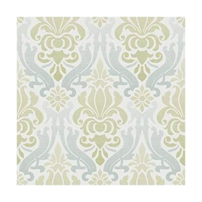 (新品) NuWallpaper NU1656 Nouveau Damask Wallpaper, Blue/Green