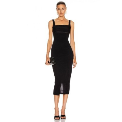 ノーム Noam レディース ワンピース ワンピース・ドレス for fwrd erina dress Black