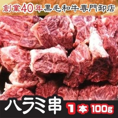 父の日 2021 プレゼント 肉 牛ハラミ サガリ肉厚串 1本 1本100g トップチョイス