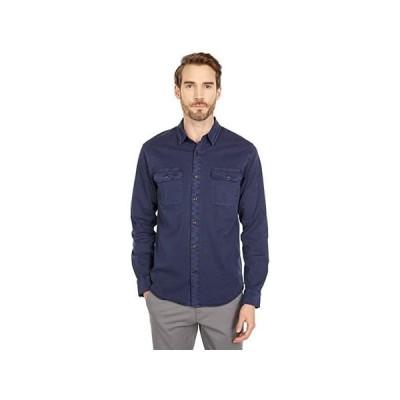 ラッキーブランド Long Sleeve Humbolt Tencel Workwear Shirt メンズ シャツ トップス Navy