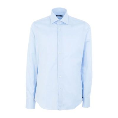 ALEA シャツ スカイブルー 39 コットン 100% シャツ