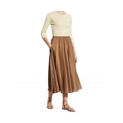 Vince ヴィンス レディース 女性用 ファッション スカート Gathered Pull-On Skirt - Timber