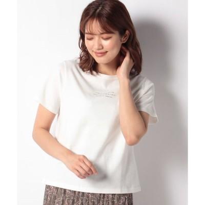 【エヘカソポ】【ehka sopo】ロゴプリントTシャツ