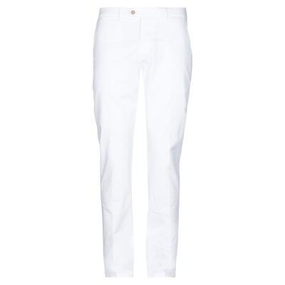 0/ZERO CONSTRUCTION パンツ ホワイト 35 コットン 97% / ポリウレタン 3% パンツ