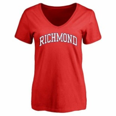 Fanatics Branded ファナティクス ブランド スポーツ用品  Richmond Spiders Womens Red Everyday T-Shirt