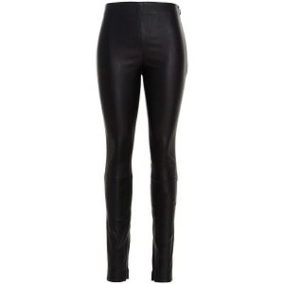 THEORY/セオリー Black   Leather leggings レディース 秋冬2021 J0100218001 ju