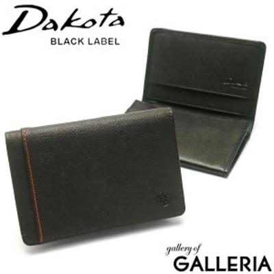【商品レビューで+5%】ダコタブラックレーベル カードケース Dakota BLACK LABEL 名刺入れ リバー3 カード入れ 0627706 0625706