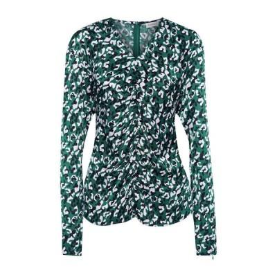 BY MALENE BIRGER ブラウス ファッション  レディースファッション  トップス  シャツ、ブラウス  長袖 ダークグリーン