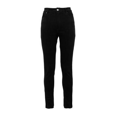 YOOX - CALVIN KLEIN JEANS パンツ ブラック 25W-30L コットン 97% / ポリウレタン 3% パンツ