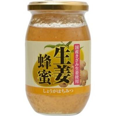 【ユニマットリケン】国産きざみ生姜使用 生姜蜂蜜 400g ※お取り寄せ商品