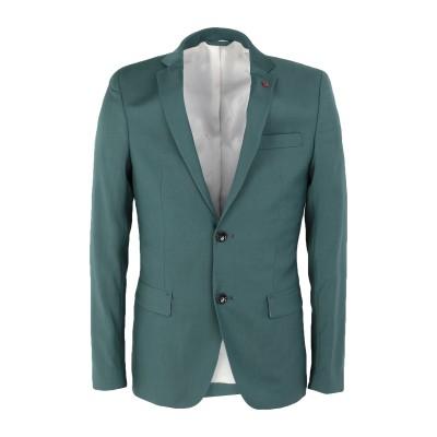LIU •JO MAN テーラードジャケット エメラルドグリーン 46 バージンウール 100% テーラードジャケット