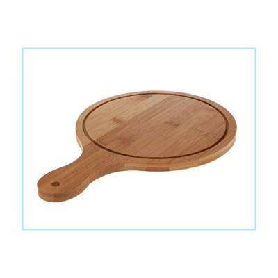 新品WellieSTR 1PC Natural Bamboo Pizza Peel, Pizza Cutting Board Pizza Spatula Paddle for Baking Homemade Pizza and Bread - Oven or Grill