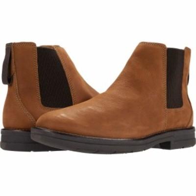クラークス Clarks メンズ ブーツ シューズ・靴 Banning Limit Tan Tumbled Nubuck