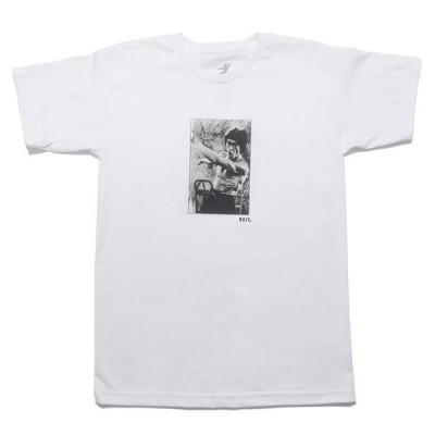 ベイト メンズ 服  BAIT x Bruce Lee Men Punch Box Tee (white)