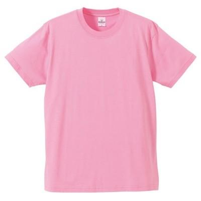 Tシャツ メンズ レディース 半袖 無地 丸首 大きい 綿 綿100 シャツ tシャツ スポーツ クルーネック ブランド トップス 男 女 丈夫 人気 xs s m l 2l 3l ピンク