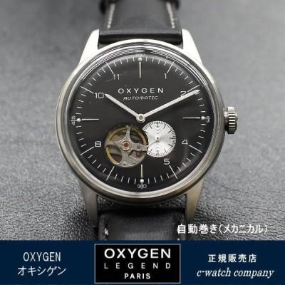 メッシュブレス プレゼント中! OXYGEN オキシゲン 腕時計 CITY LEGEND40 自動巻き L-COA-FEL-40 メンズ腕時計 送料無料