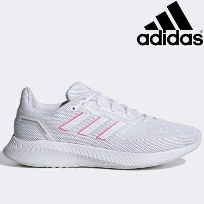 アディダス CORERUNNER W FY9623 レディース 白靴 ブホワイト 通勤 通学 白スニーカー 通勤靴 スニーカー シューズ 靴 くつ