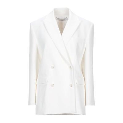 イロ IRO テーラードジャケット ホワイト 32 レーヨン 57% / コットン 43% テーラードジャケット