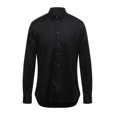 ジョルジオ アルマーニ GIORGIO ARMANI シャツ ブラック 42 コットン 100% シャツ