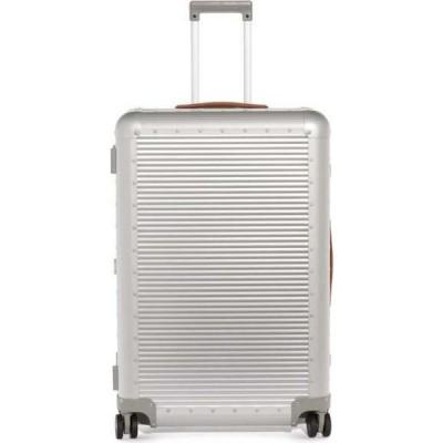 ファブリカ ペレッテリエ ミラノ FPM Milano レディース スーツケース・キャリーバッグ バッグ Bank S Spinner 76 check-in suitcase Silver