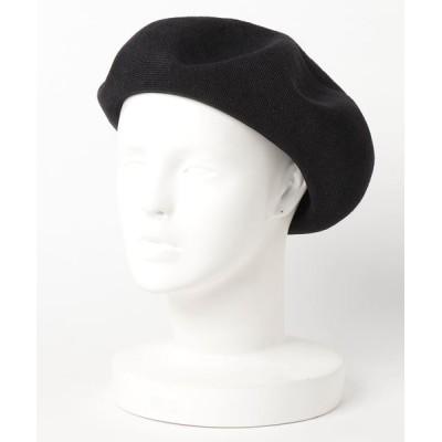 polcadot / 洗えるサーモベレー帽 WOMEN 帽子 > ハンチング/ベレー帽