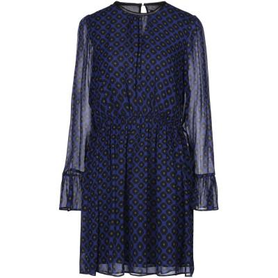 アトス ロンバルディーニ ATOS LOMBARDINI ミニワンピース&ドレス ブルー 42 ポリウレタン 62% / レーヨン 28% / ポリ