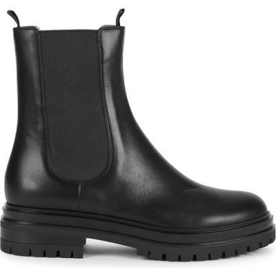 ジャンヴィト ロッシ Gianvito Rossi レディース ブーツ チェルシーブーツ シューズ・靴 40 Black Leather Chelsea Boots Black